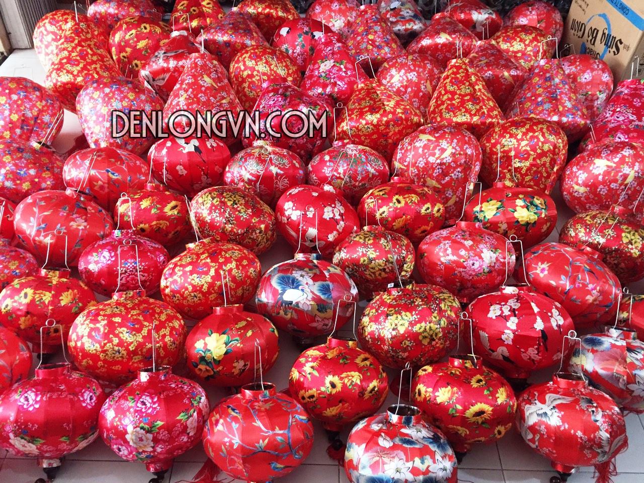 Đèn lồng Việt quà tặng tết