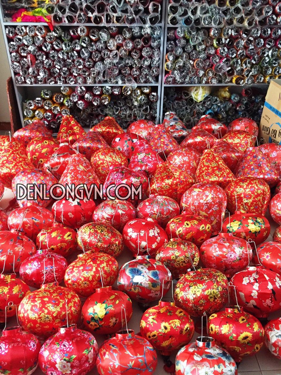 Đèn lồng trang trí Tết- Đèn lồng Việt