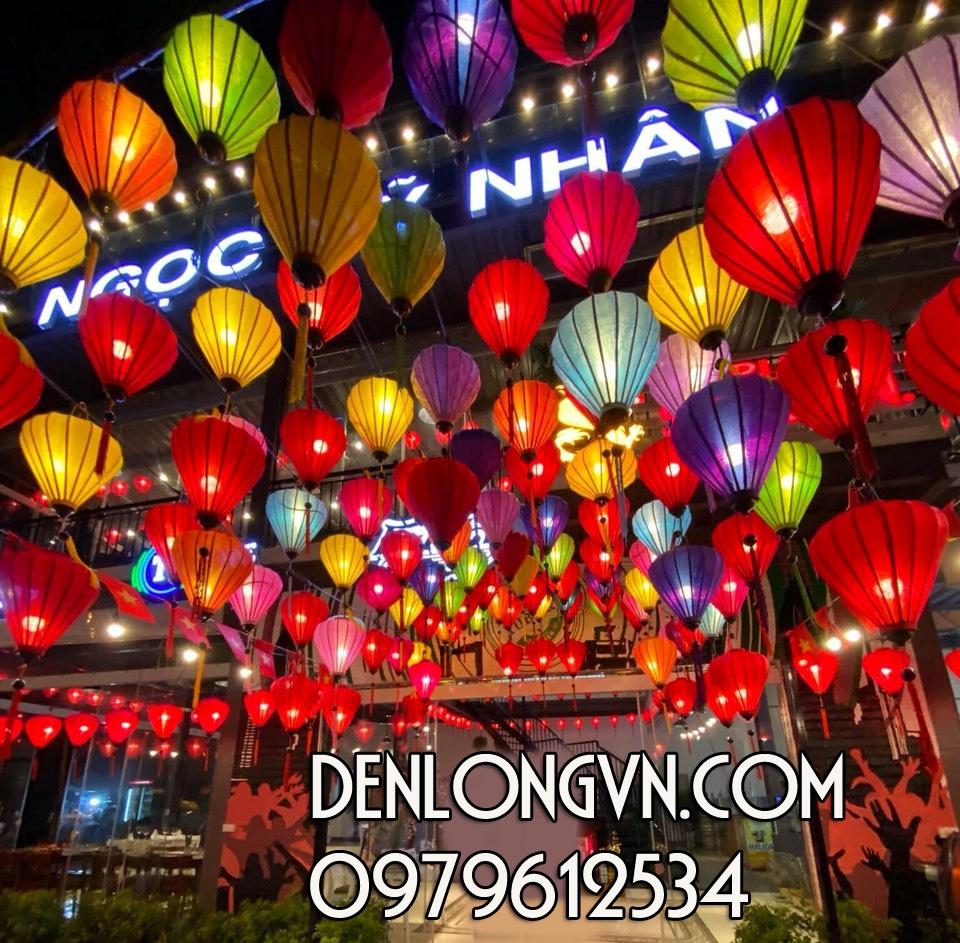 đèn lồng trang trí trung thu đậm chất Việt