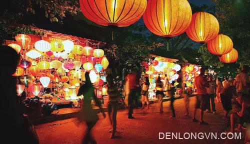 phố lồng đèn tại đô thị cổ Hội An