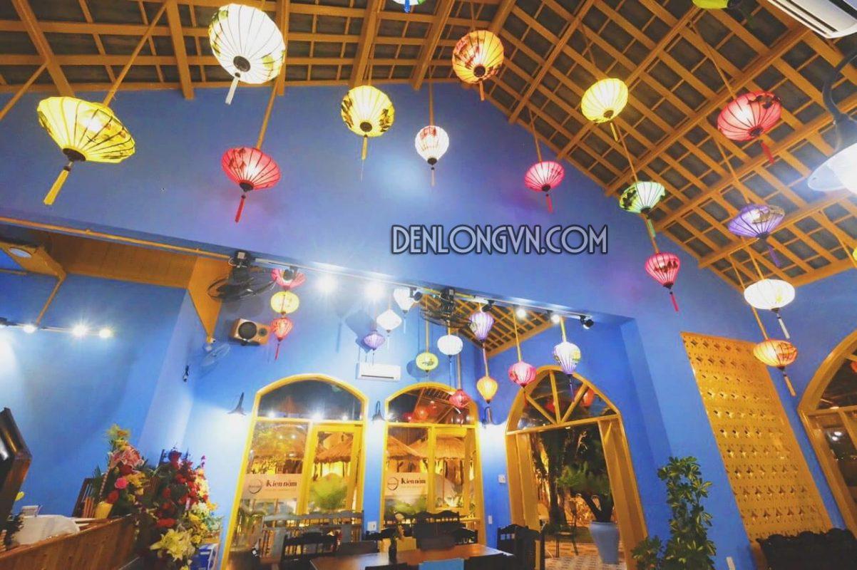 Đèn lồng trang trí quán cà phê đẹp