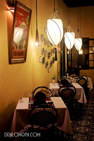 Không gian ấm cúng của một nhà hàng tại Hội An