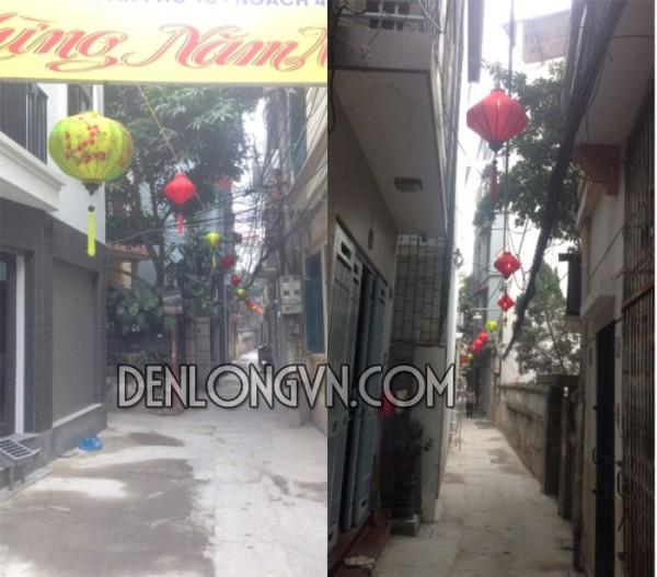 Đèn lồng Việt trang trí tết tại Hà Nội
