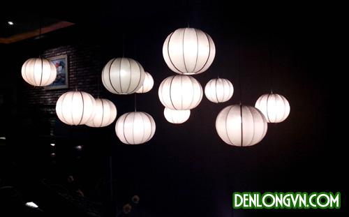 Đèn lồng Hội An cách điệu trang trí quán cà phê Mộc Miên tại Đà Nẵn