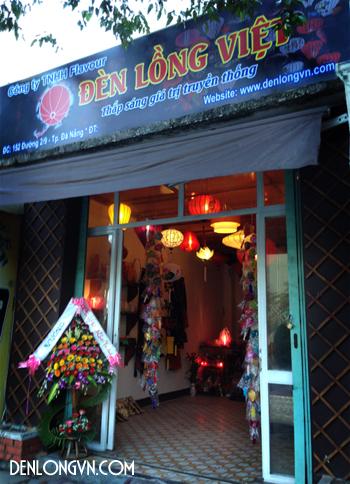 Cửa hàng đèn lồng Hội An tại Đà Nẵng