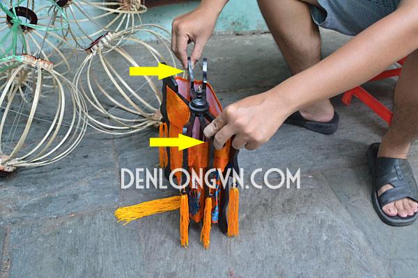 Bước 1 - Xác định hai lá gỗ cố định