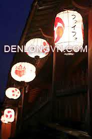 trang trí lồng đèn Hội An kiểu Nhật