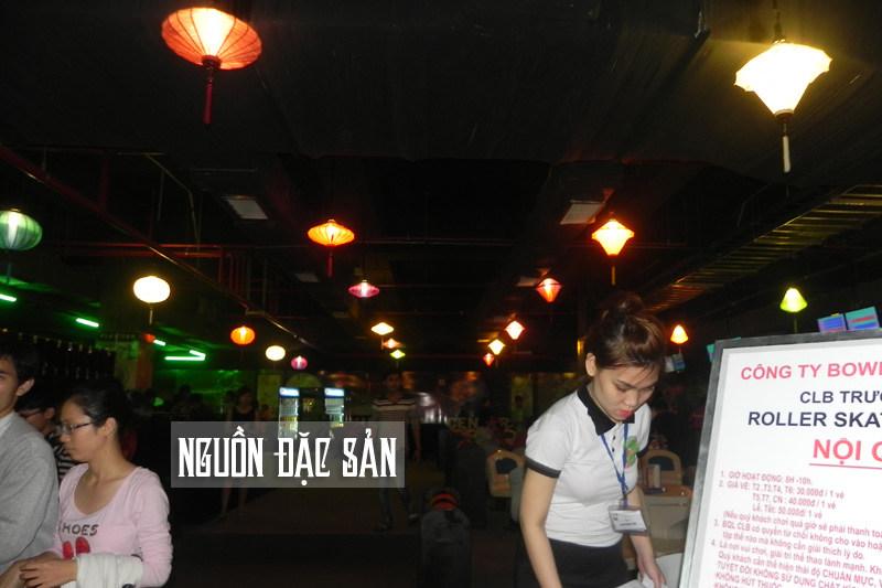 Trang trí đèn lồng siêu thị Lotte Mart Đà Nẵng